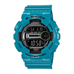 Casio Men's GD110-2 G-Shock Blue Resin 60 Lap Digital Sport Watch
