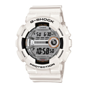 Casio Men's GD110-7 G-Shock White Resin 60 Lap Digital Sport Watch