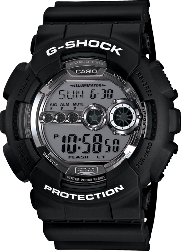 G-Shock X-Large GD100BW-1