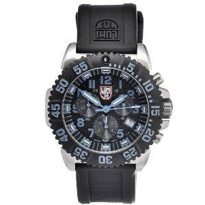 Luminox 3183 Stainless Colormark Chronograph Series - blue marker