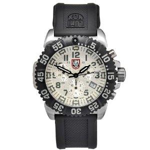 Luminox 3187 Stainless Colormark Chronograph Series - white marker