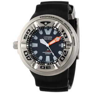Citizen BJ8050-08E: Men's Eco-Drive Professional Diver