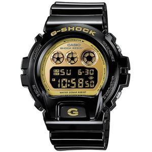 Gold toned black g-shock DW6900CB-1