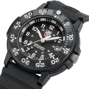 Image of dial in Luminox Original Navy Seal 3001