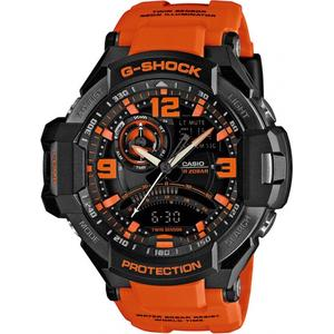 Bold Orange aviator G-shock GA1000-4A