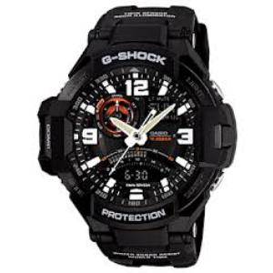First Twin-sensor equipped G-Shock Aviation Watch - GA1000-1A