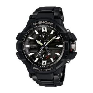 G-Shock aviation with stainless steel bracelet and quick look support - GWA1000D-1A