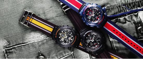 G-shock premiere military band banner