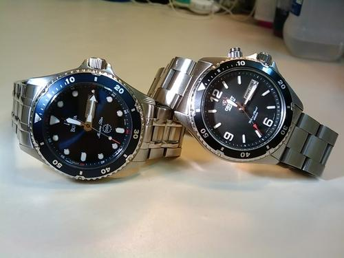 Notice the Uncanny Similarities between Orient Mako and Bulova Marine Star?