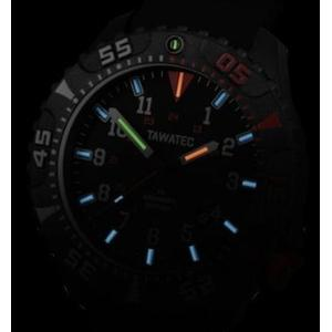 TAWATEC E.O.Diver MK II Tactical watch glowing in the dark