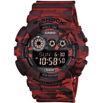 A view of G-Shock Woodland Camouflage GD120CM-4