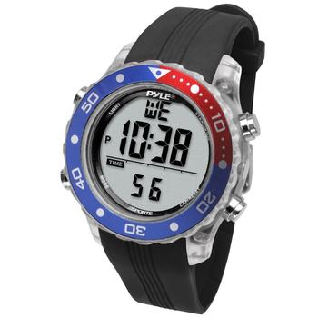 Pyle Sports Snorkeling Master Watch in blue red color