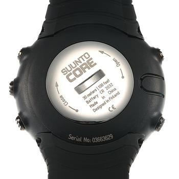 Back view of Suunto Core