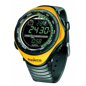 Suunto Vector Wristop Computer Review in yellow color
