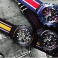 Casio G-Shock Military Cloth Black GA100MC-1A
