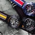 Casio G-Shock Military Cloth Black GA100MC-1A